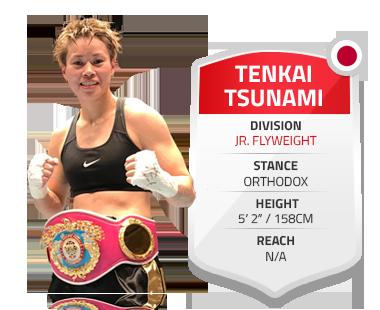 Tenkai tsunami Jr. Flyweight