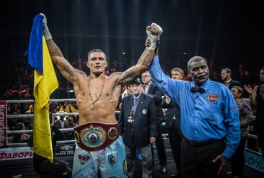 Photos: Usyk Dominates, Stops Marco Huck in Tenth Round