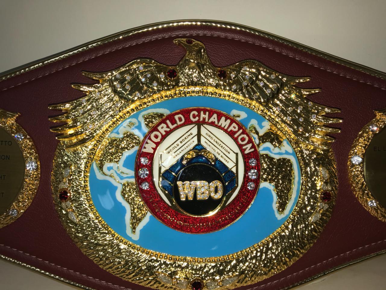Miguel Cotto WBO Diamond Belt