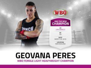 Geovana Peres Boxing