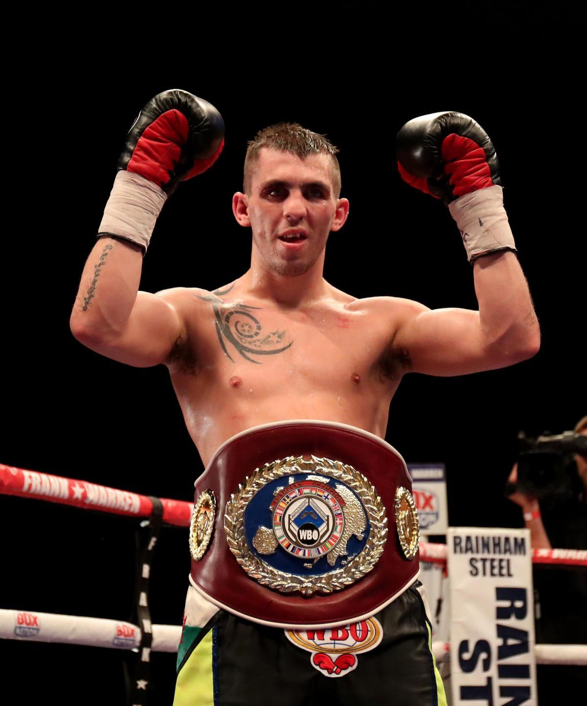 WBO | WBO European Lightweight Champion Craig Evans Faces