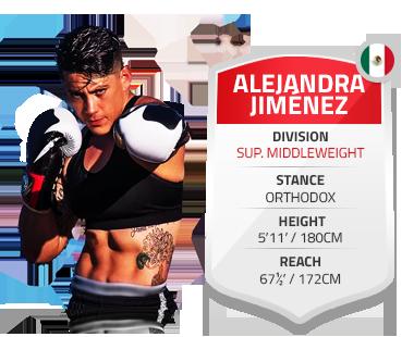 Alejandra Jiménez Ayala – SUP Middleweight