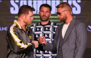 Canelo vs. Saunders Quotes From Final Press Conference | Boxen247.com