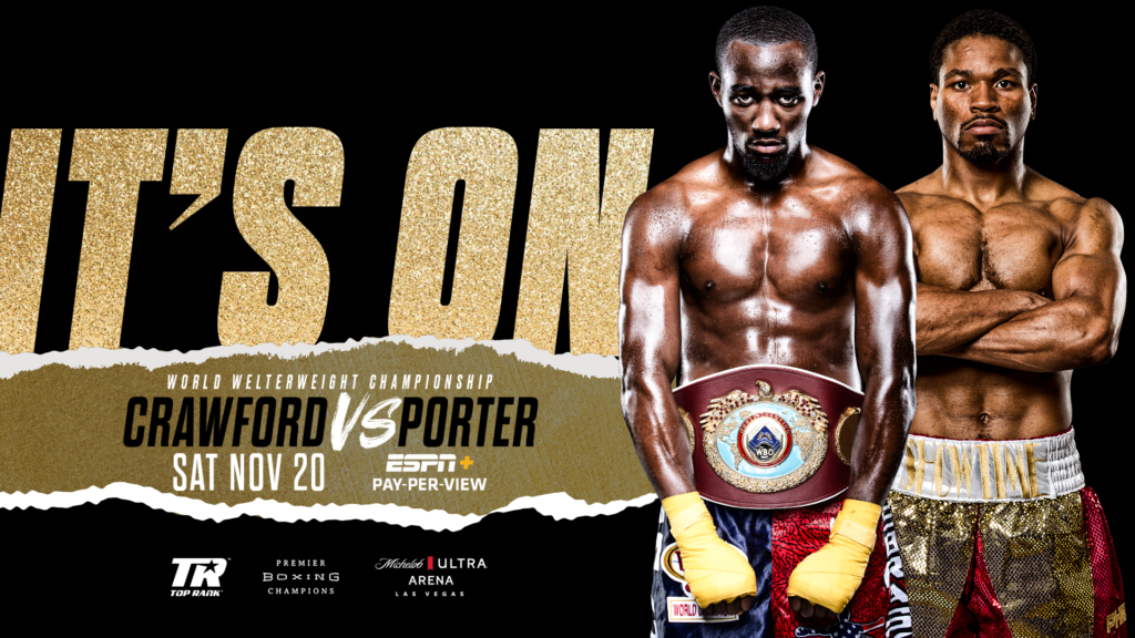 WBO | Terence Crawford-Shawn Porter WBO Welterweight Title Showdown Set for November 20 at Mandalay Bay's Michelob ULTRA Arena in Las Vegas - WBO